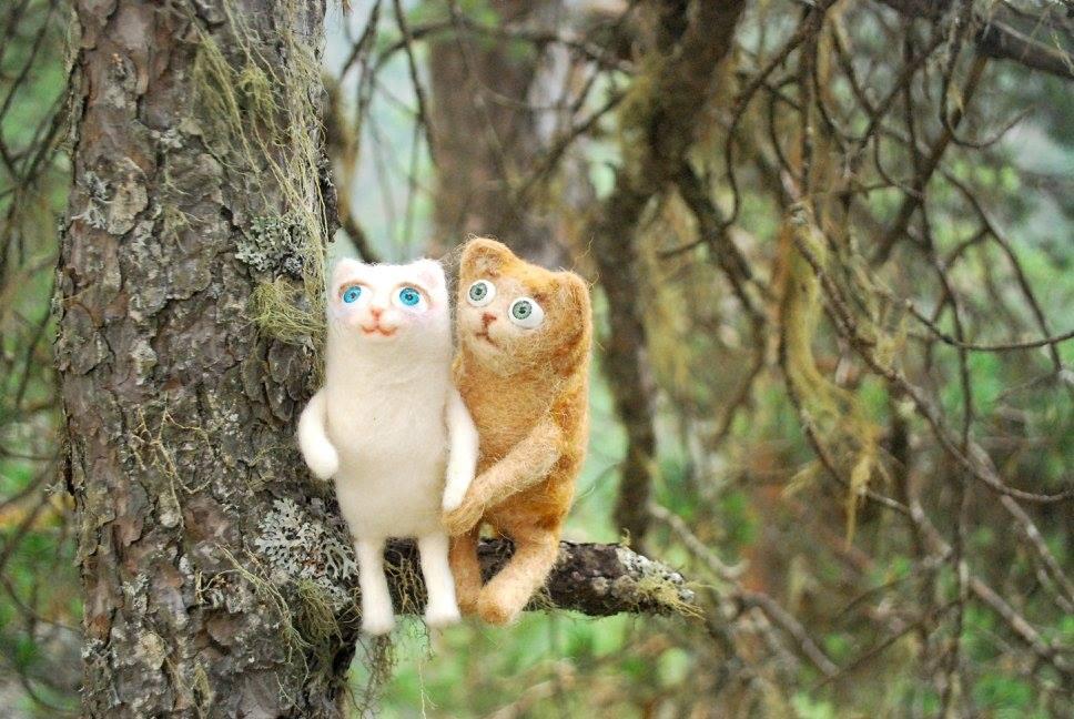 Кошки любят лазать по деревьям, и мы - не исключение.