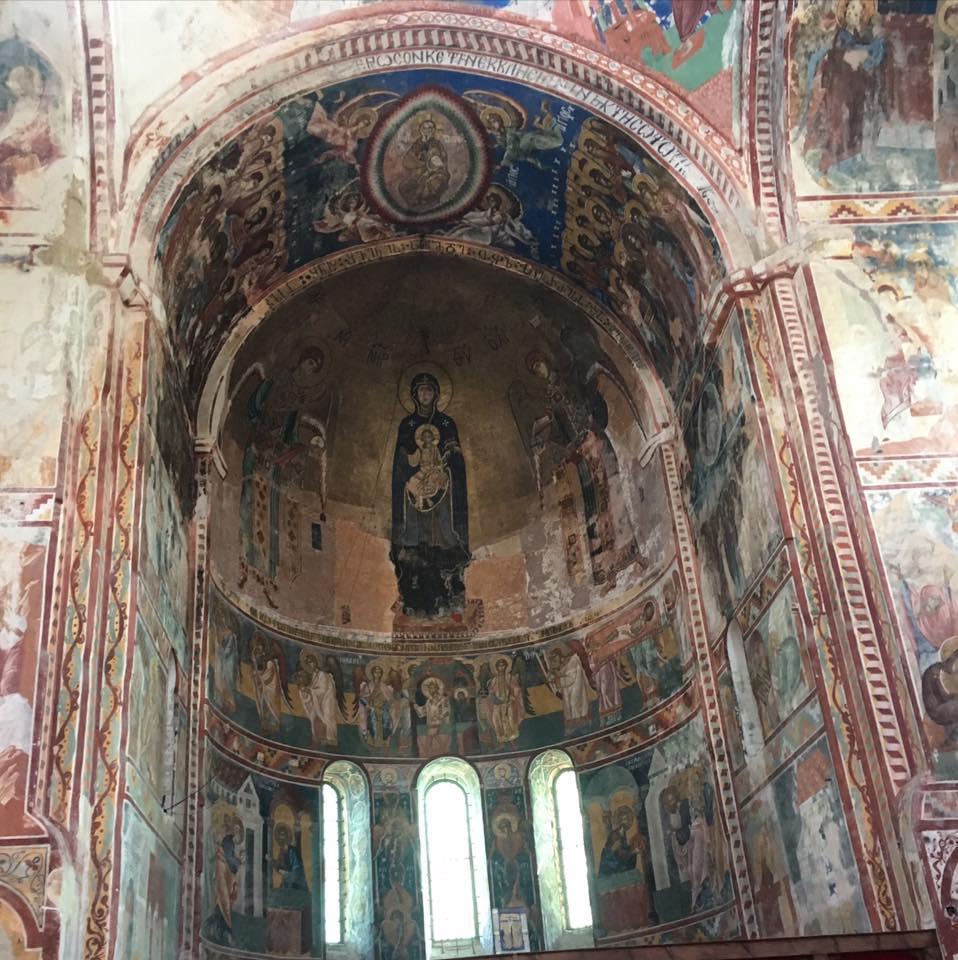 знаменитые фрески Гелати
