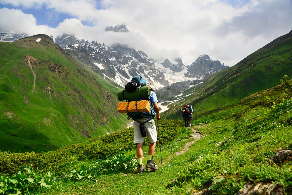 Hiking from Svaneti in summertime © Maya Karkalicheva / Getty Images