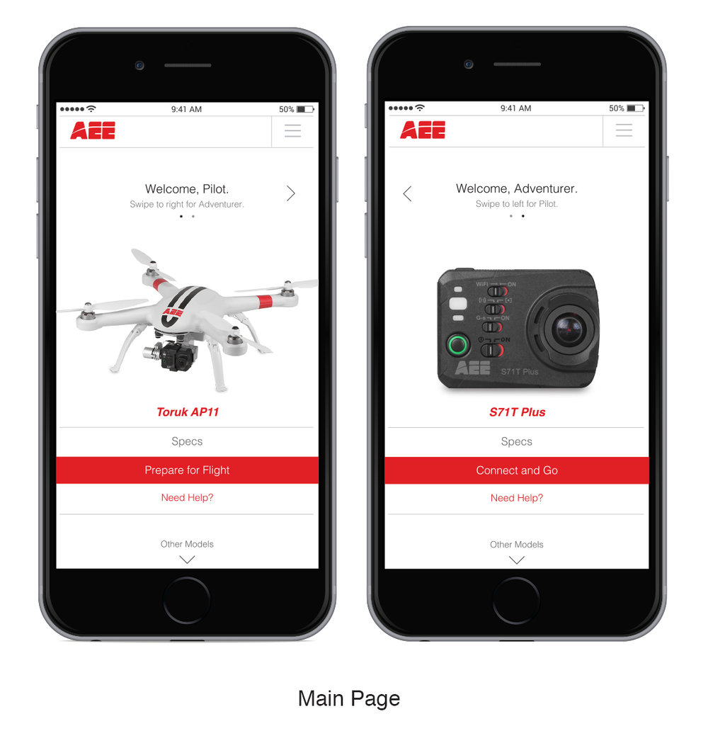 AEE APP   Drone and Action Camera interactive App. Designed to assist with drone and action camera operation. User has ability to scroll between products they purchase and function features within that AEE product. You are able to view camera view on your smart devices. User has ability to change product options on app, view product information, view website, interact with other users and make purchases.