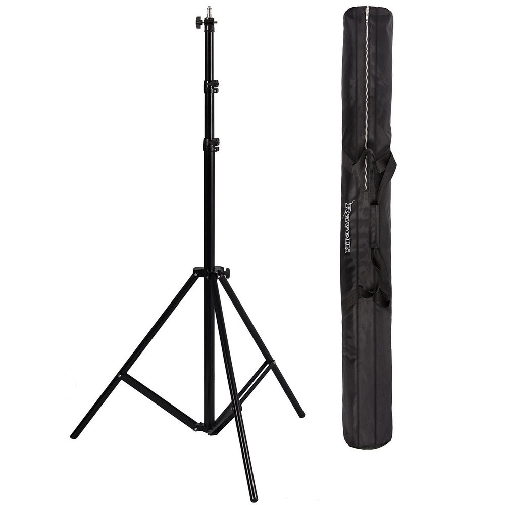 Seen here: The Ravelli ALS 10' Air-Cushioned Flash Stand and carrying bag.Courtesy: Amazon.com