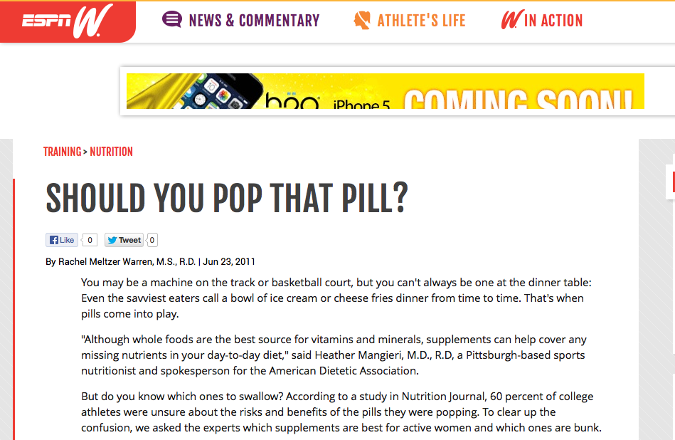 Should You Pop That Pill?