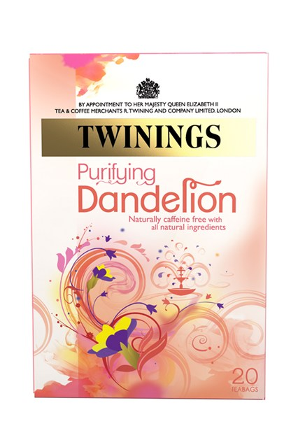 Twinings Dandelion is renowned for its gentle cleansing effects, aiding digestion and removing toxins from the liver and kidneys.