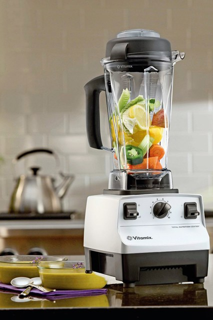 BECOME A MIX MASTER  You've never known a blender like this. Acquaint yourself with a Vitamix and start whipping up epically wholesome smoothies, soups, dips and desserts. Add the aforementioned frozen kale to smoothies or roast some vegetables, add some stock and throw it all in the Vitamix for a perfect winter soup.