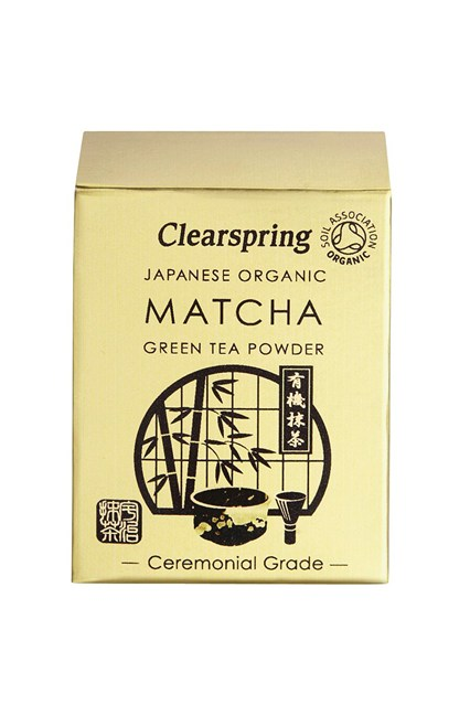 "BREW UP  Matcha tea is the new super-powered coffee alternative. ""Its antioxidant potential is exceptionally high – almost 100 times the amount of regular green tea,"" says nutritional therapist Eve Kalinik.   Clearspring Japanese Organic Matcha Green Tea Powder; £16    www.clearspring.co.uk"