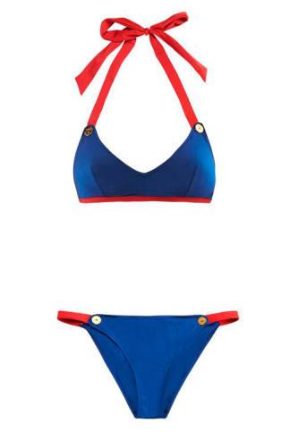 Thapelo Paris Kelly bikini top and Mel briefs from Matchesfashion.com