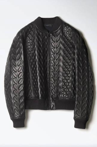 Joseph, 3D leather bomber jacket, £1895