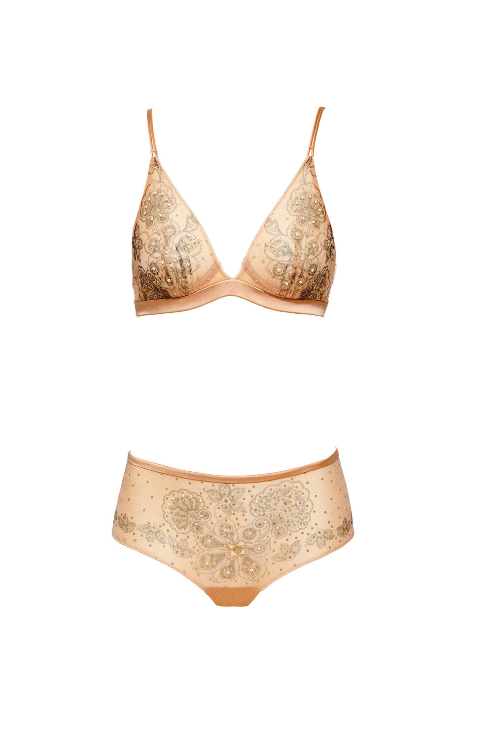 La Perla Limited Edition Bra, £276  La Perla Limited Edition Brief, £296