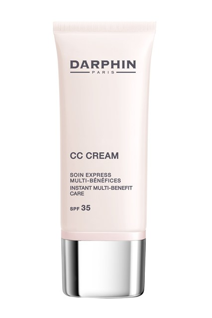 Darphin  With its blendable texture, impressive SPF 35 protection and radiance-boosting particles, Darphin's CC cream is easy to apply and won't settle into fine lines or pores.