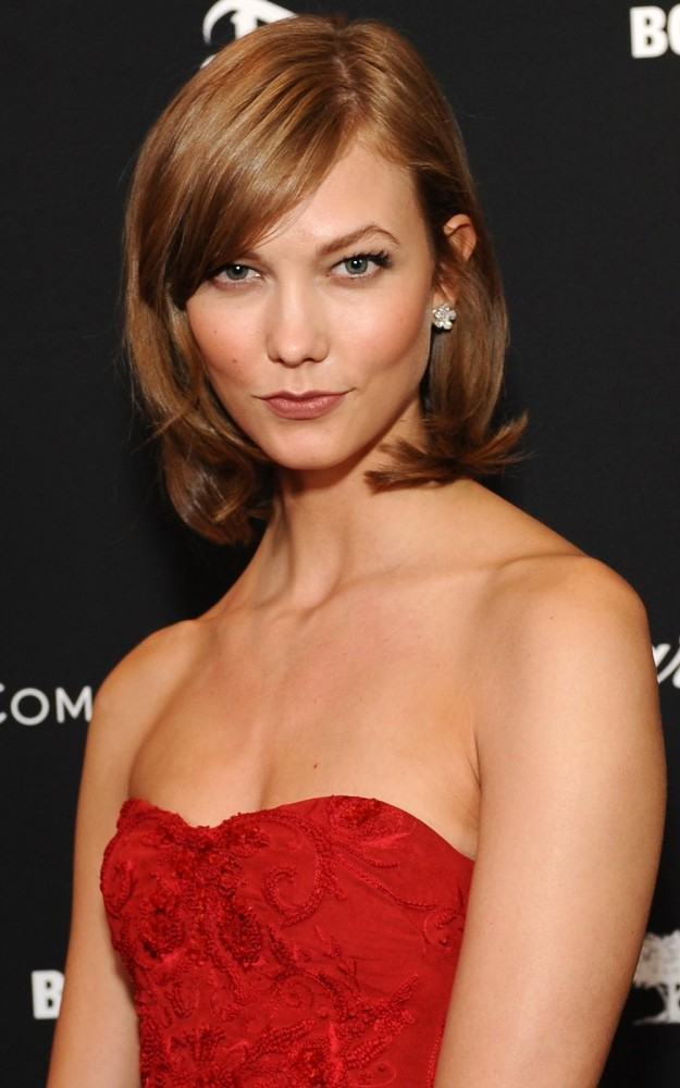 """Karlie Kloss """"Oribe's Maximista Thickening Sprayis great for volumizing short strands. Spray it on damp hair, then add texture using a curling wand."""" Oribe Maximista Thickening Spray, £25 at Space NK"""
