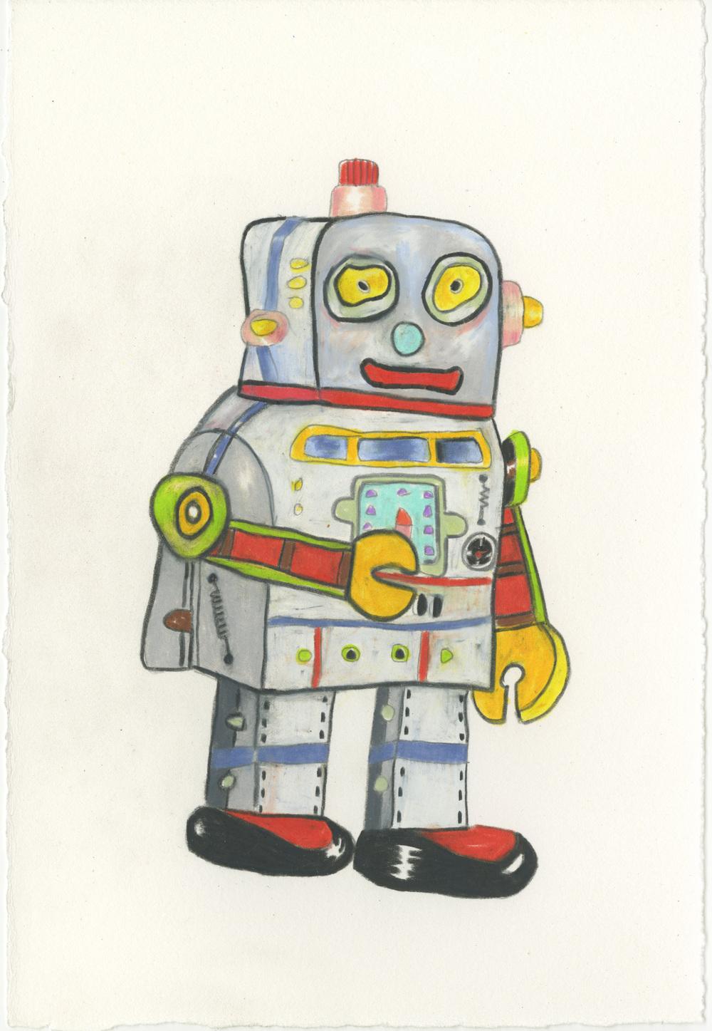 Robot Sketch (2015)