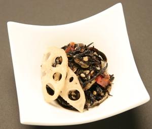 Hijiki Salad - Lotus Root.JPG