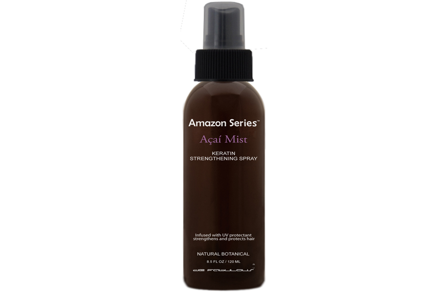 de Fabulous acai mist keratin stengthening spray
