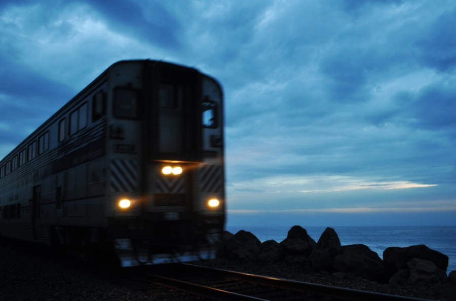 San Clemente Boardwalk Train