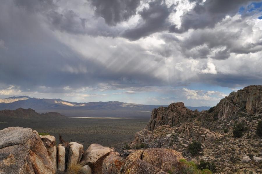 Teutonia Peak Mojave