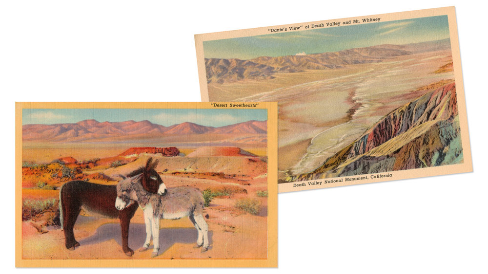 Death Valley Postcards