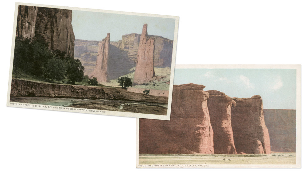 Canyon de Chelly Vintage Postcards