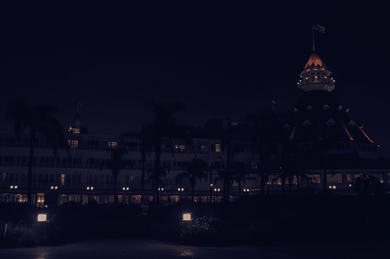 Hotel Del Coronado By Night