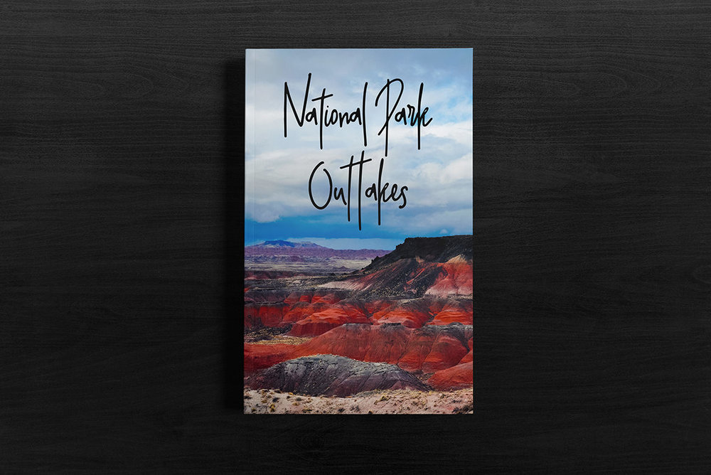National Park Outtakes Fine Art Photography Book