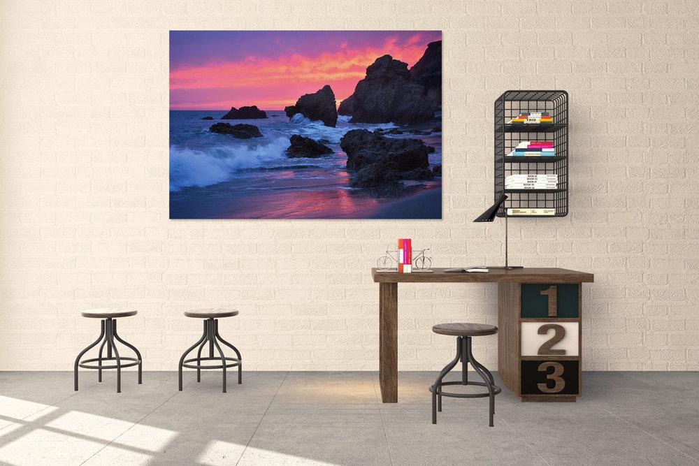 Malibu Ocean Sunset California Fine Art Print