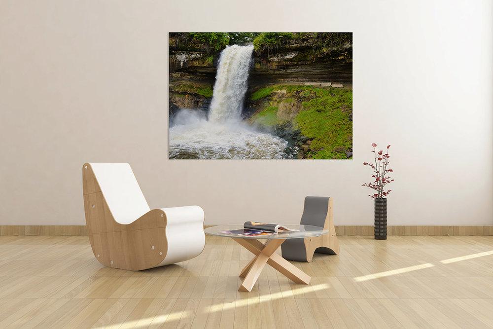 Minnehaha Falls Minnesota Fine Art Print