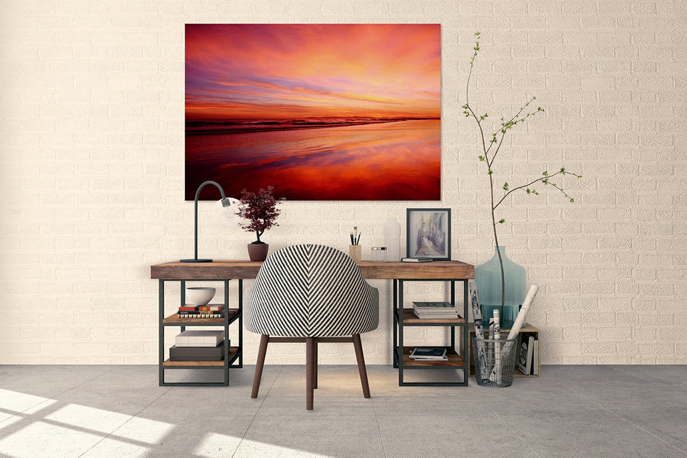 Orange County Sunset Fine Art Print