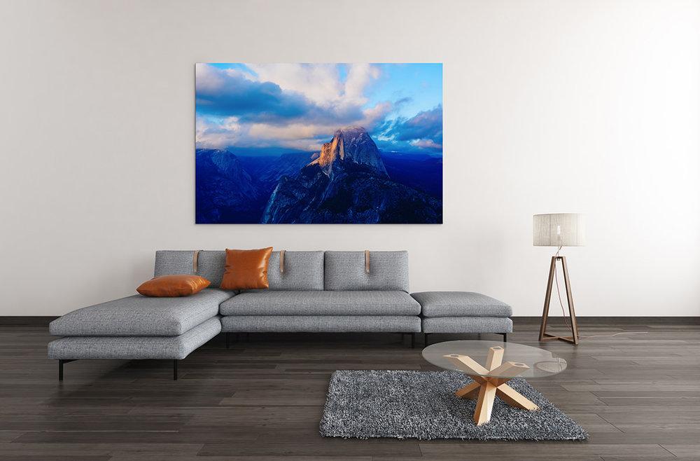 Yosemite National Park Half Dome Sunset Fine Art Print
