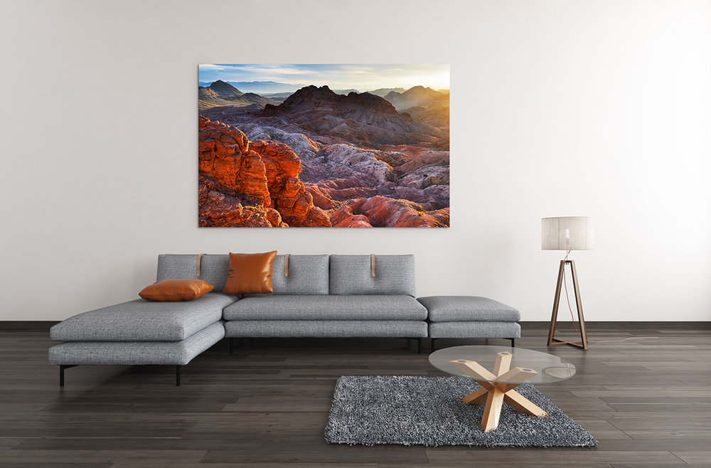 Valley of Fire Nevada Fine Art Print