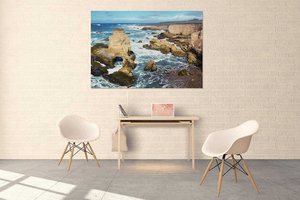 California Central Coast Ocean Fine Art Print