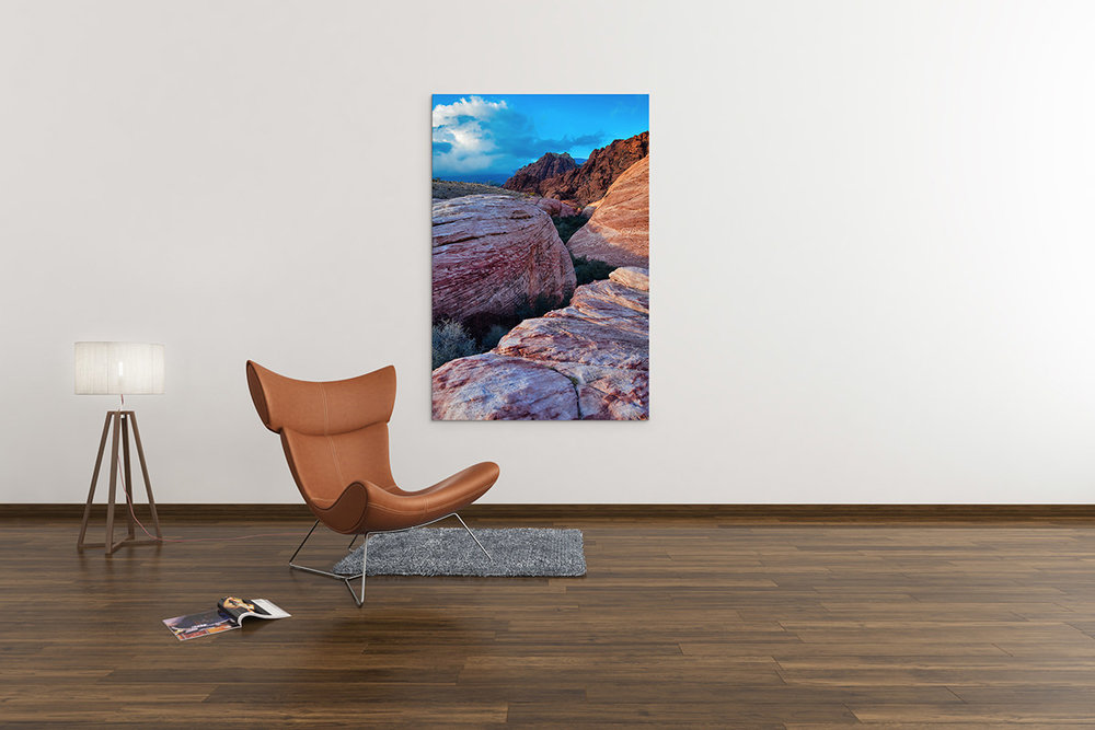 Red Rock Canyon Sunset Nevada Fine Art Print