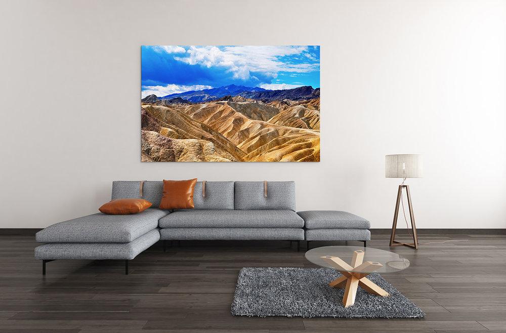 Death Valley Badlands Fine Art Print