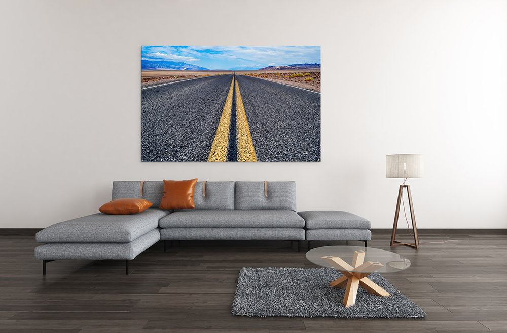 Death Valley Road Fine Art Print
