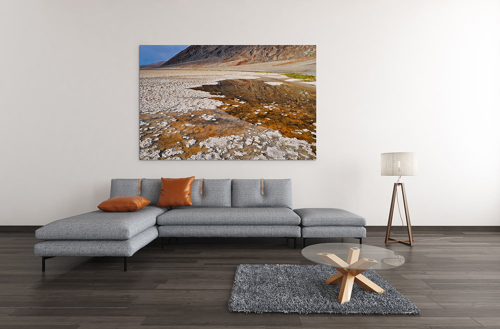 Death Valley Badwater Basin Fine Art Print