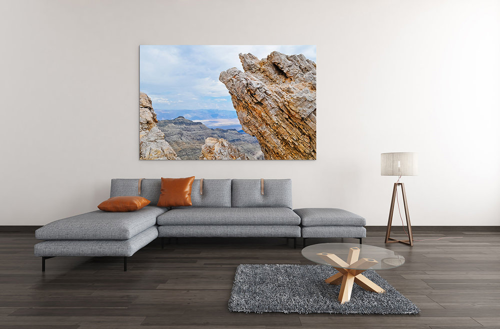 Death Valley Aguereberry Point Fine Art Print