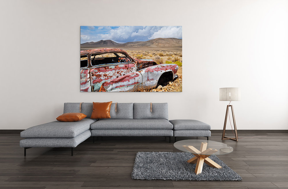 Death Valley Automobile Fine Art Print