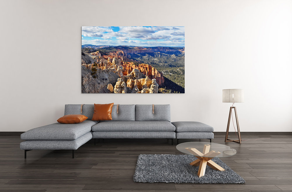 Bryce Canyon Rainbow Point Fine Art Print