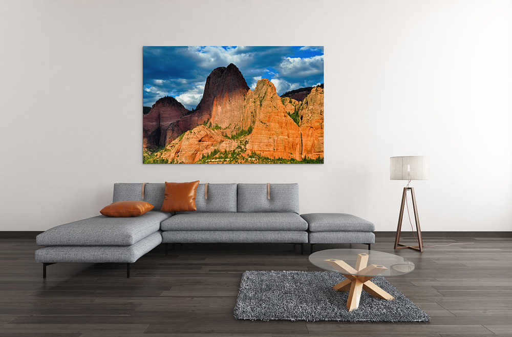 Zion Kolob Canyons Utah Fine Art Print