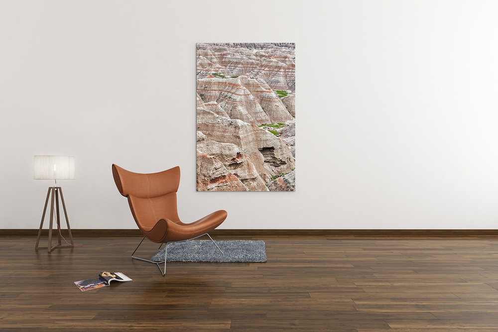 Badlands South Dakota Fine Art Print
