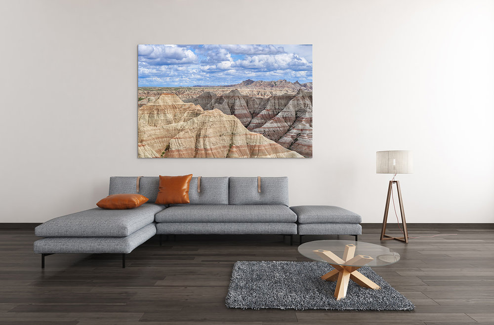 Badlands National Park South Dakota Fine Art Print