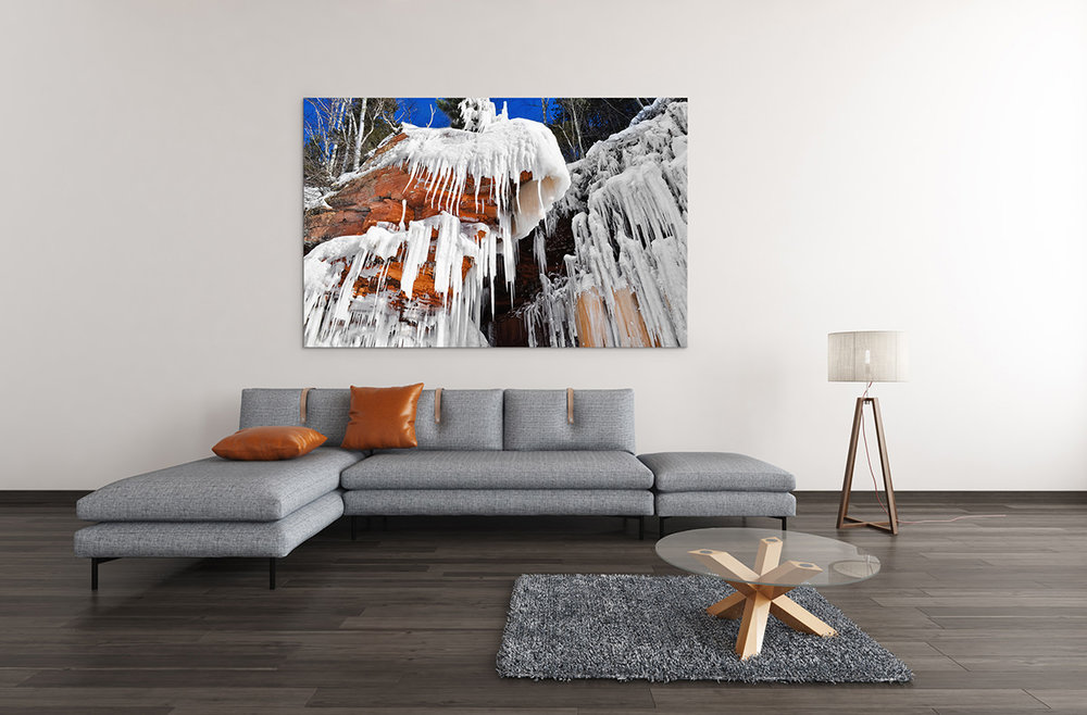 Apostle Islands Ice Caves Wisconsin Fine Art Print