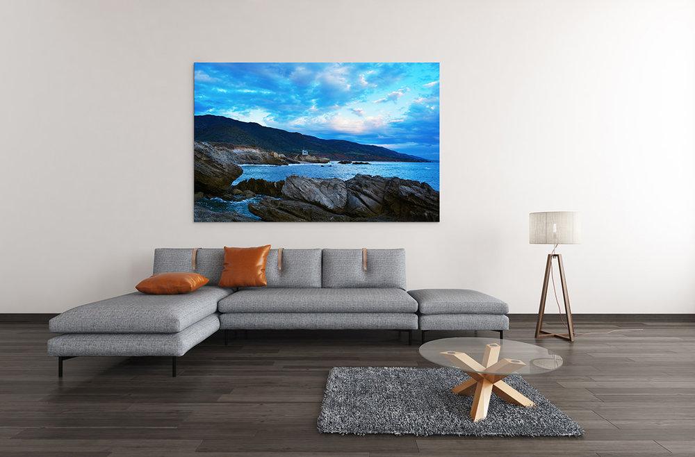 Malibu Rocky Sunset Fine Art Print