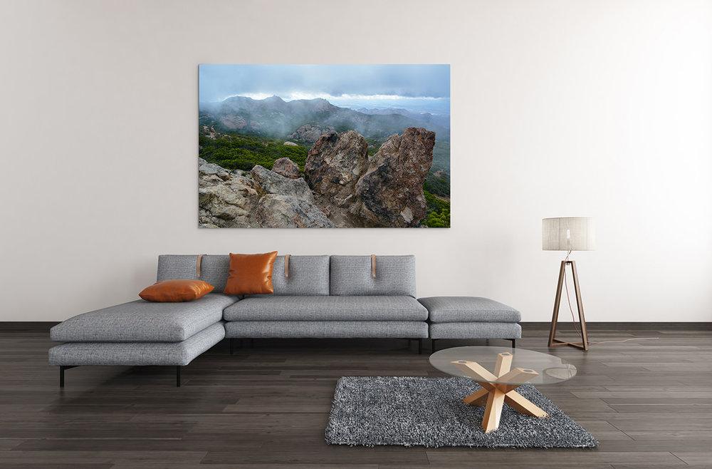 Sandstone Peak Santa Monica Mountains Fine Art Print