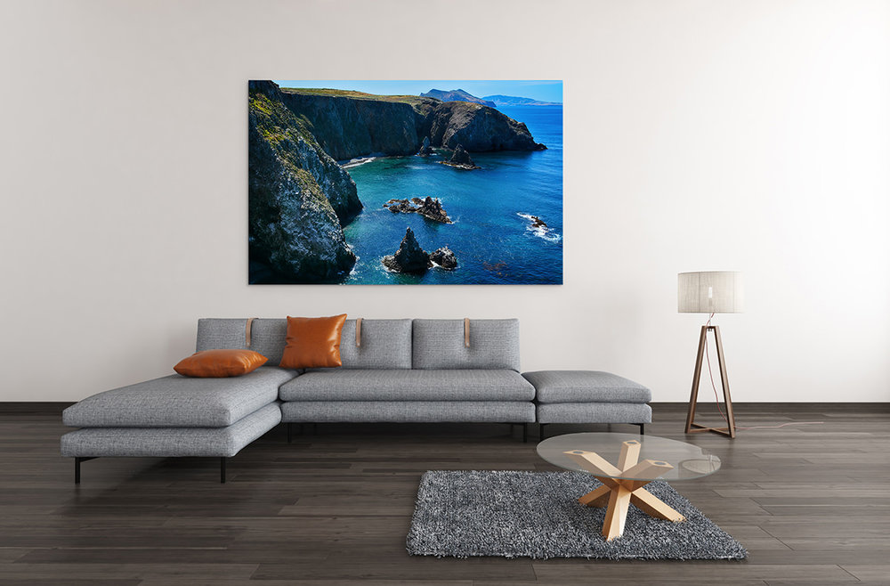 Channel Islands Cathedral Cove Fine Art Print