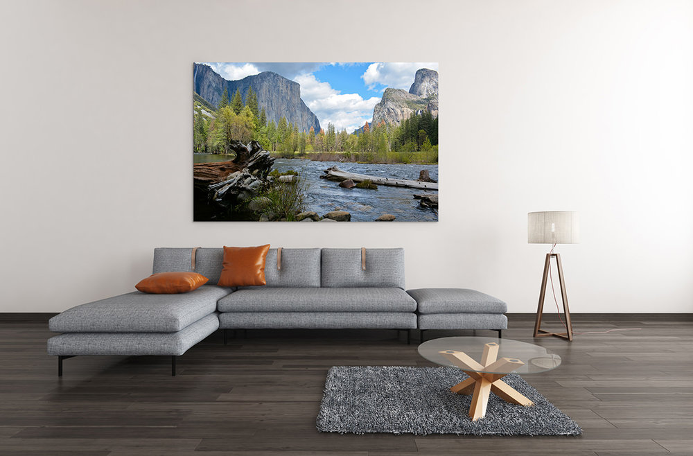 Yosemite National Park Valley View Fine Art Print