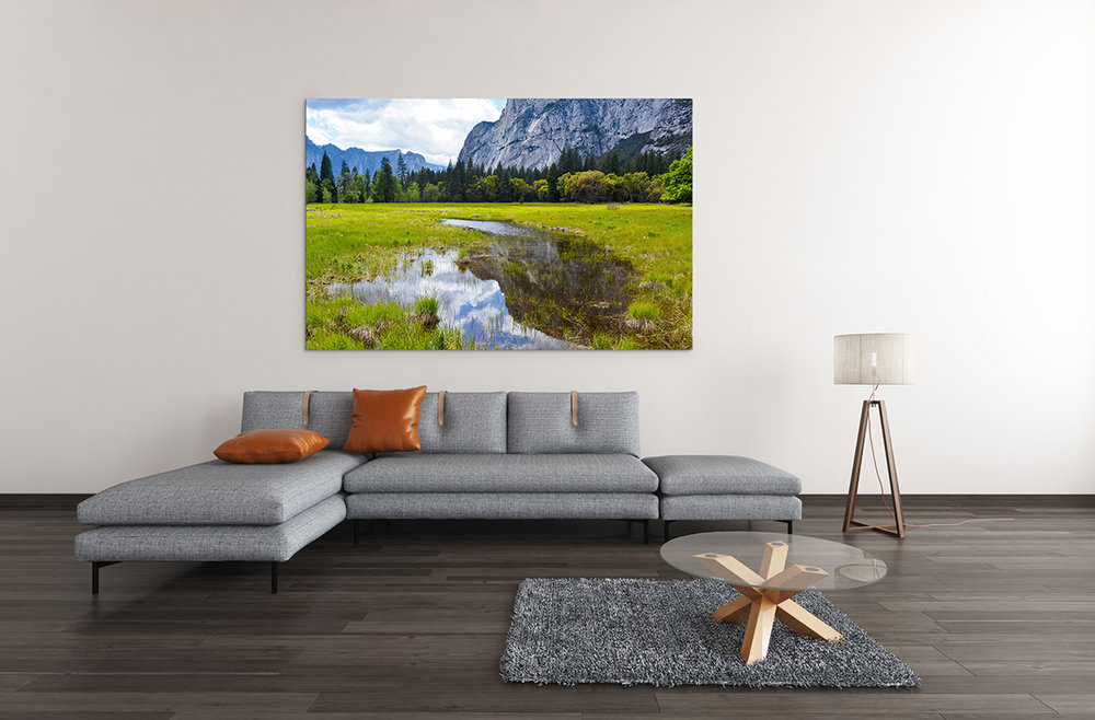 Yosemite National Park Meadow Fine Art Print