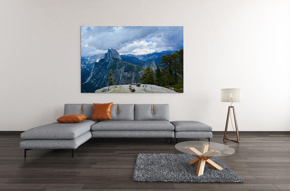 Glacier Point Yosemite National Park Fine Art Print