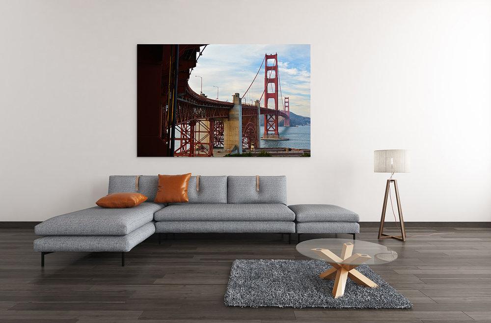 Golden Gate Bridge San Francisco Fine Art Print