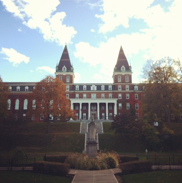 Holy Cross in fall