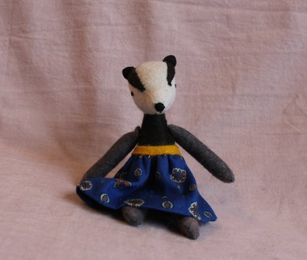 Anne Badger is in the shop!
