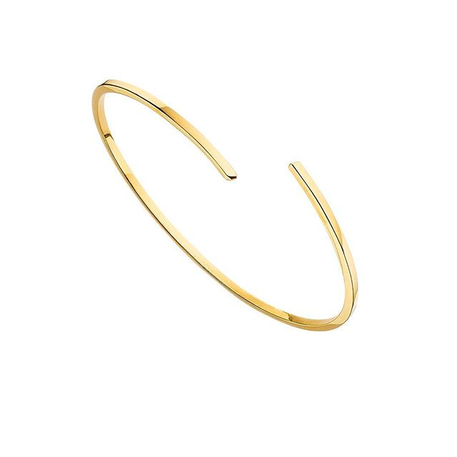 Ah brand new and in love - our super skinny gold bangle. 💫#jewellery #love